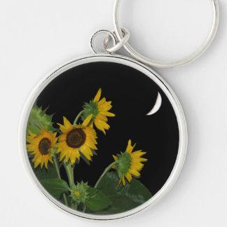 Sunflower In Full Bloom Keychain