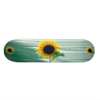 Sunflower In Full Bloom Skateboard Deck