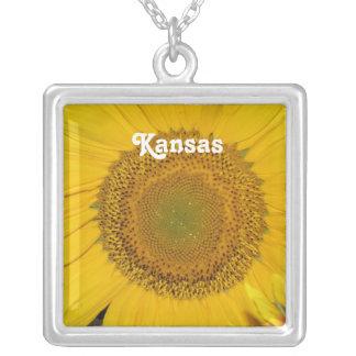 Sunflower in Kansas Necklaces