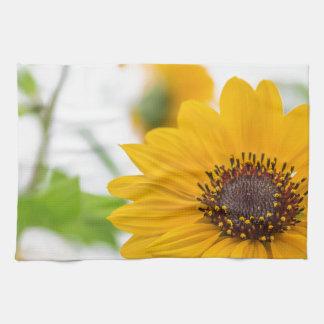 sunflower in midsummer kitchen towel