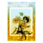 Sunflower in Paris Large Business Cards (Pack Of 100)