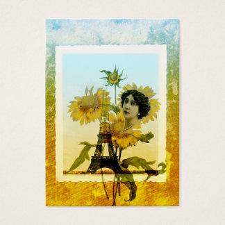 Sunflower in Paris Business Card