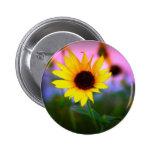 Sunflower in Sunset Pin