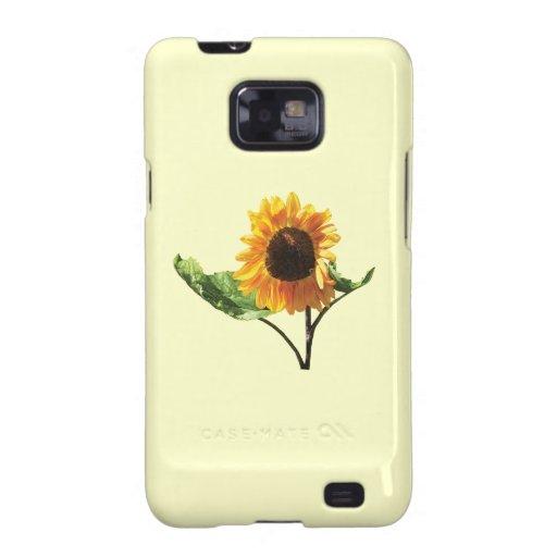 Sunflower in Sunshine Galaxy S2 Cover