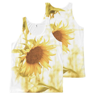 Sunflower in the Light Tank Top