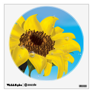 Sunflower in the Sunshine Wall Sticker
