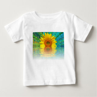 sunflower in water baby T-Shirt