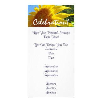 Sunflower invitations Celebration Sun Flowers