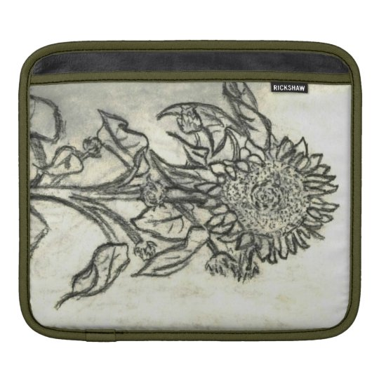 Sunflower iPad Sleeve