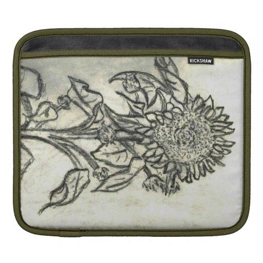 Sunflower iPad Sleeves