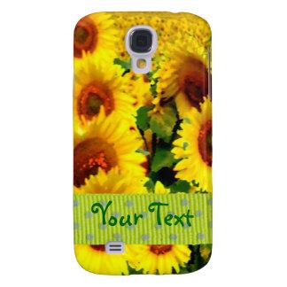 Sunflower iPhone 3 Case - Customizable