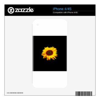Sunflower iPhone 4S Decal