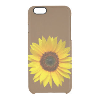 Sunflower iPhone 6 Clear Case Uncommon Clearly™ Deflector iPhone 6 Case