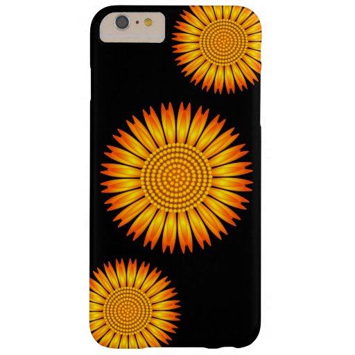 Sunflower iPhone 6 Plus Case | Custom Color