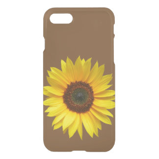 Sunflower iPhone 7 Clear Case