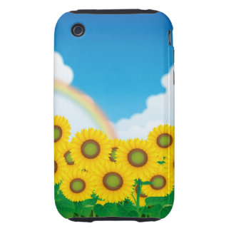 SunFlower iPhone Case iPhone 3 Tough Covers