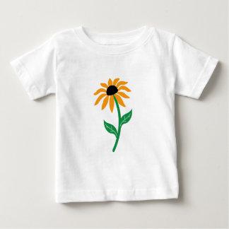 Sunflower isolated baby T-Shirt