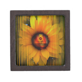 Sunflower Jewelry Box