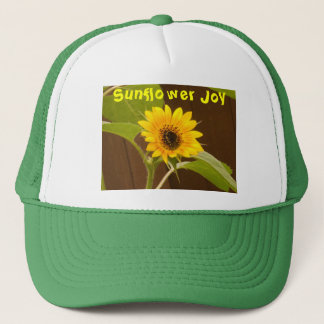 Sunflower Joy Truckers Cap