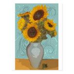 sunflower.jpg tarjeta postal