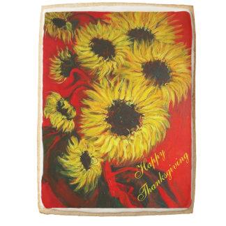 Sunflower Jumbo Shortbread Cookie