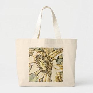 Sunflower Jumbo Tote Bag