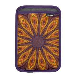 Sunflower Kaleidoscope iPad Mini Sleeves