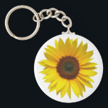 "Sunflower Key Chain<br><div class=""desc"">A single perfect sunflower on a white background.</div>"