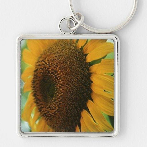 sunflower keychain