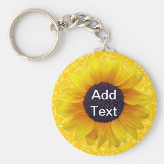 Sunflower Keychains
