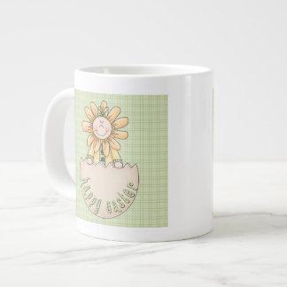 Sunflower Kids Egg Large Coffee Mug