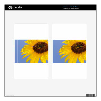Sunflower Kindle Fire Decals