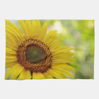 Sunflower kitchen towel