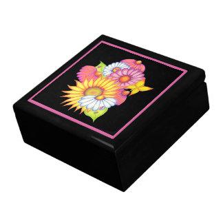 Sunflower Ladybug Jewelry Box