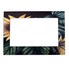 Sunflower Life Magnetic Picture Frame