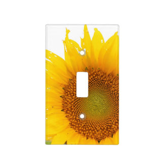 Sunflower Light Switch Cover
