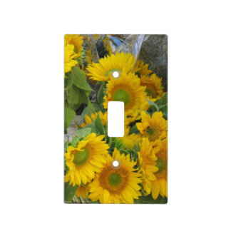 Sunflower Light Switch Plate