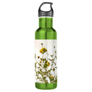 SUNFLOWER LIME WATER 24OZ WATER BOTTLE