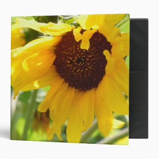 Sunflower Love 3 Ring Binder