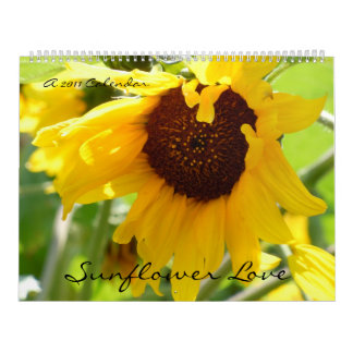 Sunflower Love Wall Calendar