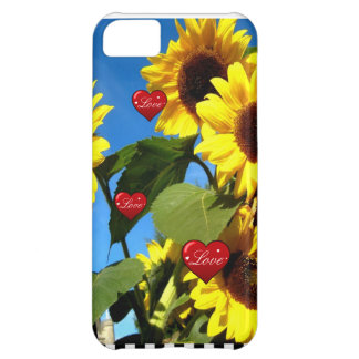 SUNFLOWER LOVE CASE iPhone 5C COVER