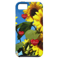 SUNFLOWER LOVE CASE iPhone 5 CASES
