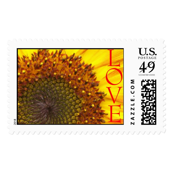 Sunflower Love Stamp