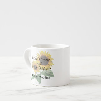 Sunflower Love Wedding Products Espresso Cup