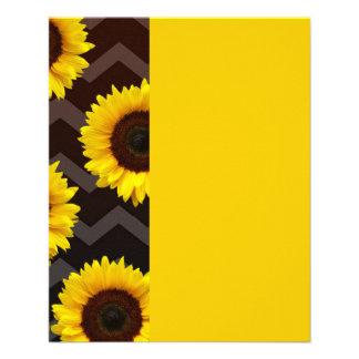 Sunflower Lovin Full Color Flyer
