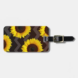 Sunflower Lovin Luggage Tag