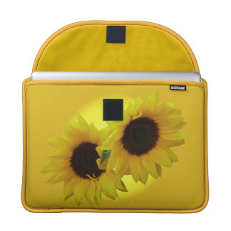 Sunflower Macbook Sleeve Sunny Sunflower Gifts Sleeves For MacBooks