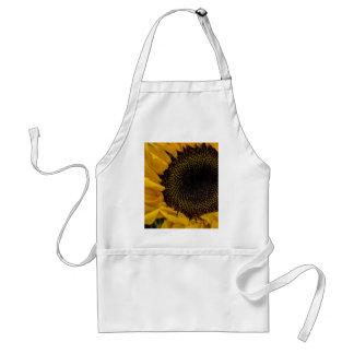 Sunflower Macro Photo Apron