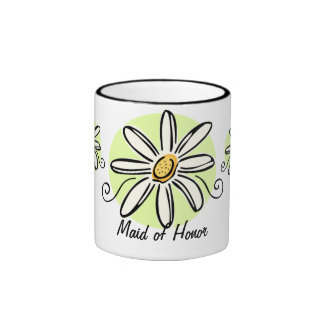 Sunflower Maid of Honor Mug