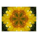 Sunflower Mandala Card